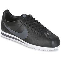 Topánky Muži Nízke tenisky Nike CLASSIC CORTEZ LEATHER Čierna / Šedá