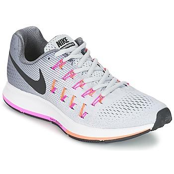 Topánky Ženy Bežecká a trailová obuv Nike AIR ZOOM PEGASUS 33 W šedá / Ružová