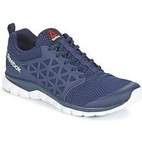Topánky Muži Bežecká a trailová obuv Reebok Sport SUBLITE XT CUSHION Námornícka modrá