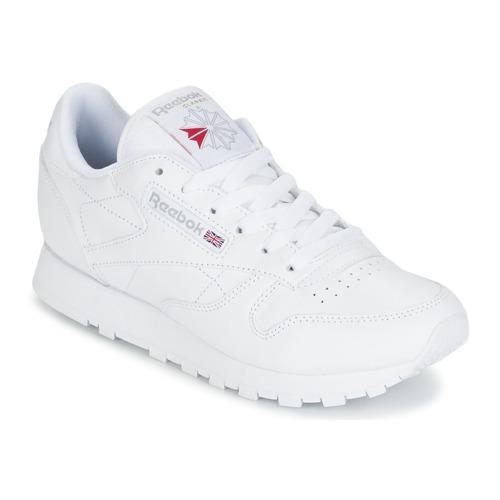Topánky Ženy Nízke tenisky Reebok Classic CLASSIC LEATHER Biela