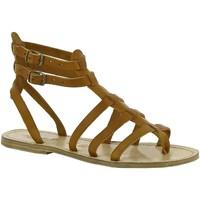 Topánky Ženy Sandále Gianluca - L'artigiano Del Cuoio 506 D CUOIO LGT-CUOIO Cuoio