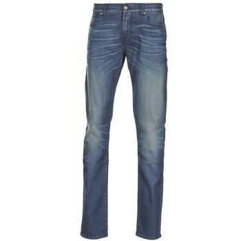 Oblečenie Muži Džínsy Slim 7 for all Mankind RONNIE ELECTRIC MIND Modrá / Medium