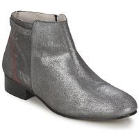 Topánky Ženy Polokozačky Alba Moda FLONI Strieborná