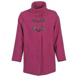 Oblečenie Ženy Kabáty Benetton DILO Ružová