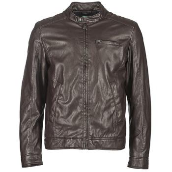 Oblečenie Muži Kožené bundy a syntetické bundy Benetton HOULO Hnedá