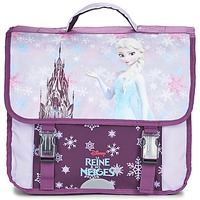 Tašky Dievčatá Školské tašky a aktovky Disney REINE DES NEIGES CARTABLE 38CM Tmavá fialová