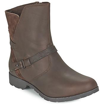 Topánky Ženy Polokozačky Teva DELAVINA LOW Hnedá