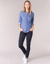 Oblečenie Ženy Džínsy Slim Yurban IETOULETTE Modrá