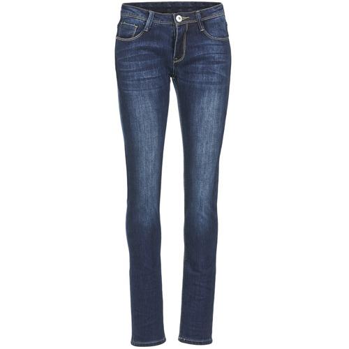 Oblečenie Ženy Džínsy Slim Yurban IETOULETTE Modrá / Medium