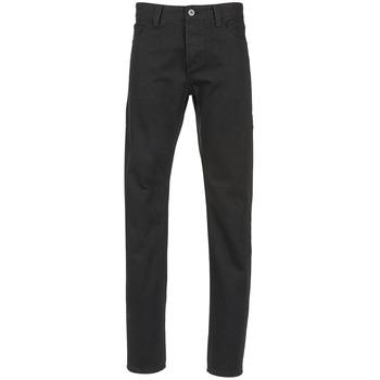 Oblečenie Muži Rovné džínsy Yurban EDABALO Čierna