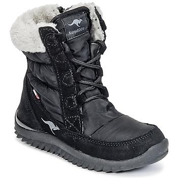 Topánky Dievčatá Obuv do snehu Kangaroos CUPY JUNIOR Čierna