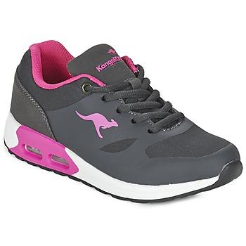 Topánky Dievčatá Nízke tenisky Kangaroos KANGA X šedá / Ružová