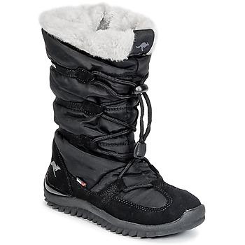 Topánky Ženy Snehule  Kangaroos PUFFY III JUNIOR Čierna