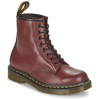 Topánky Polokozačky Dr Martens 1460 Červená