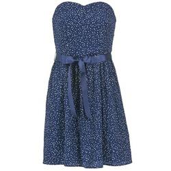 Oblečenie Ženy Krátke šaty Morgan RPEPS Námornícka modrá