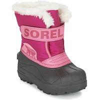 Topánky Deti Obuv do snehu Sorel CHILDRENS SNOW COMMANDER Ružová