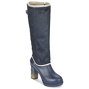 Topánky Ženy Čižmy do mesta Sorel MEDINA IV PREMIUM Collegiate / Námornícka modrá / čierna