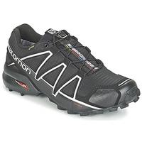 Topánky Muži Bežecká a trailová obuv Salomon SPEEDCROSS 4 GTX® Čierna / Strieborná