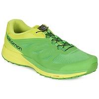 Topánky Muži Bežecká a trailová obuv Salomon SENSE PRO 2 Zelená / čierna