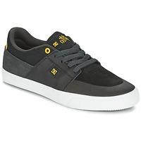 Topánky Muži Nízke tenisky DC Shoes WES KREMER čierna / šedá / žltá