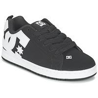 Topánky Muži Skate obuv DC Shoes COURT GRAFFIK čierna