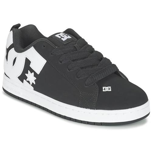 e80a000e89f42 DC Shoes COURT GRAFFIK Čierna - Bezplatné doručenie | Spartoo.sk ...