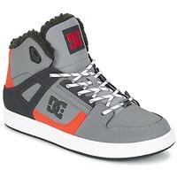 Topánky Deti Členkové tenisky DC Shoes REBOUND WNT B SHOE XSKN šedá / čierna / Oranžová