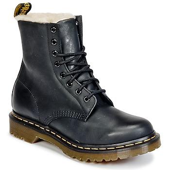 Topánky Ženy Polokozačky Dr Martens SERENA Čierna