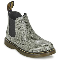 Topánky Deti Polokozačky Dr Martens BANZAI ASP šedá