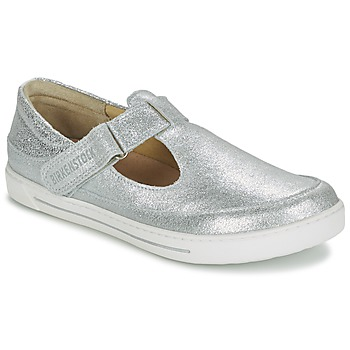 Topánky Deti Sandále Birkenstock ABILENE Strieborná