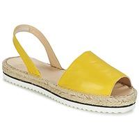 Topánky Ženy Sandále Anaki TEQUILAI žltá