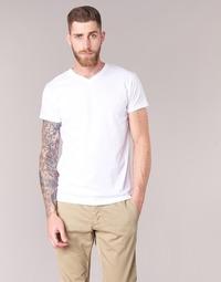 Oblečenie Muži Tričká s krátkym rukávom BOTD ECALORA Biela