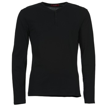 Oblečenie Muži Tričká s dlhým rukávom BOTD ETUNAMA čierna