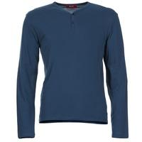 Oblečenie Muži Tričká s dlhým rukávom BOTD ETUNAMA Námornícka modrá