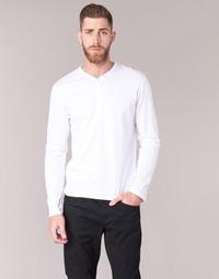 Oblečenie Muži Tričká s dlhým rukávom BOTD ETUNAMA Biela