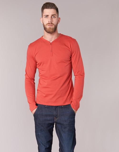 Oblečenie Muži Tričká s dlhým rukávom BOTD ETUNAMA Červená