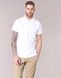 Oblečenie Muži Polokošele s krátkym rukávom BOTD EPOLARO Biela