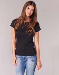 Oblečenie Ženy Tričká s krátkym rukávom BOTD EQUATILA Čierna