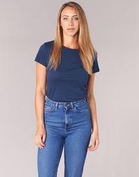 Oblečenie Ženy Tričká s krátkym rukávom BOTD EQUATILA Námornícka modrá