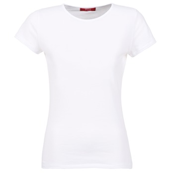 Oblečenie Ženy Tričká s krátkym rukávom BOTD EQUATILA Biela