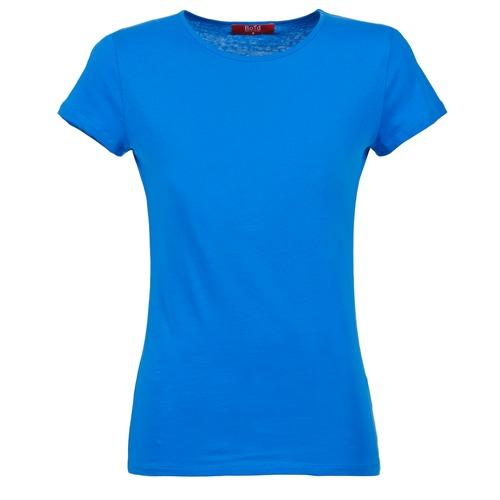 Oblečenie Ženy Tričká s krátkym rukávom BOTD EQUATILA Modrá