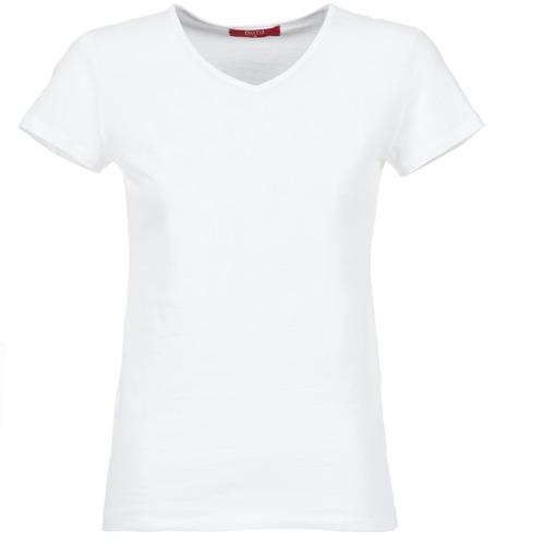 Oblečenie Ženy Tričká s krátkym rukávom BOTD EFLOMU Biela