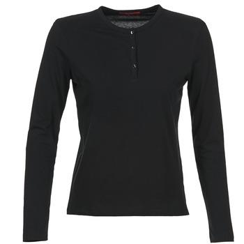 Oblečenie Ženy Tričká s dlhým rukávom BOTD EBISCOL Čierna