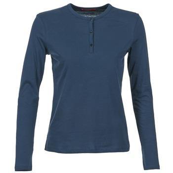 Oblečenie Ženy Tričká s dlhým rukávom BOTD EBISCOL Námornícka modrá