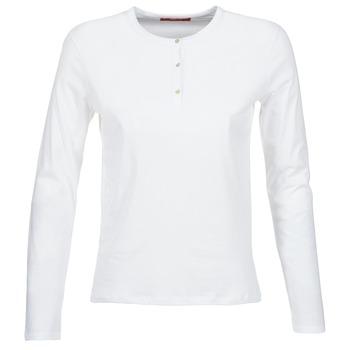 Oblečenie Ženy Tričká s dlhým rukávom BOTD EBISCOL Biela
