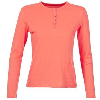 Oblečenie Ženy Tričká s dlhým rukávom BOTD EBISCOL Koralová