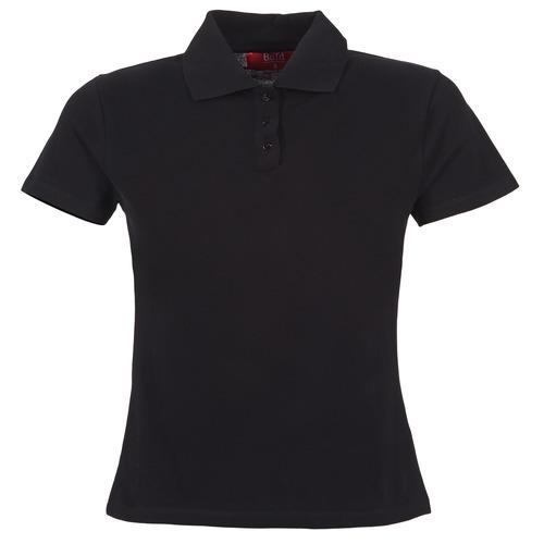 Oblečenie Ženy Polokošele s krátkym rukávom BOTD ECLOVERA Čierna