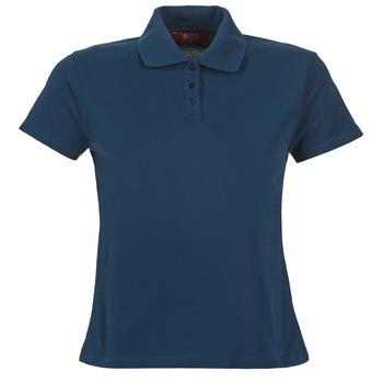Oblečenie Ženy Polokošele s krátkym rukávom BOTD ECLOVERA Námornícka modrá