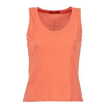 Oblečenie Ženy Tielka a tričká bez rukávov BOTD EDEBALA Oranžová