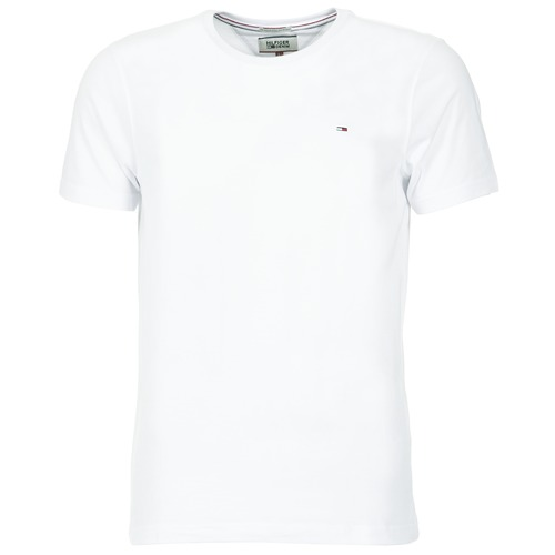 Oblečenie Muži Tričká s krátkym rukávom Tommy Jeans OFLEKI Biela